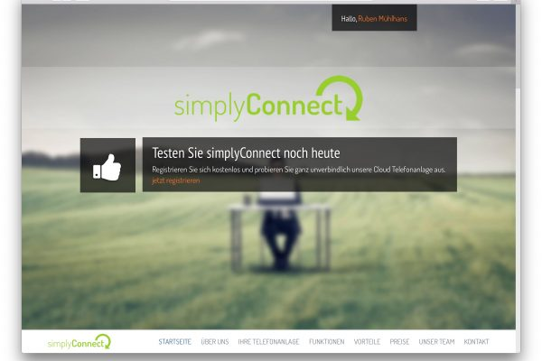 simplyConnect – Virtuelle Telefonanlage