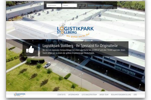 Logistikpark Stollberg – Online Shop & Kundenverwaltung